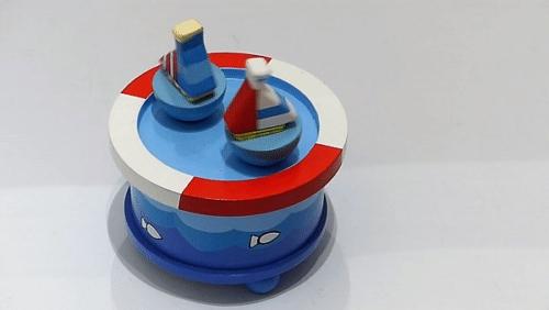 Magnetische Tanz-Spieluhren