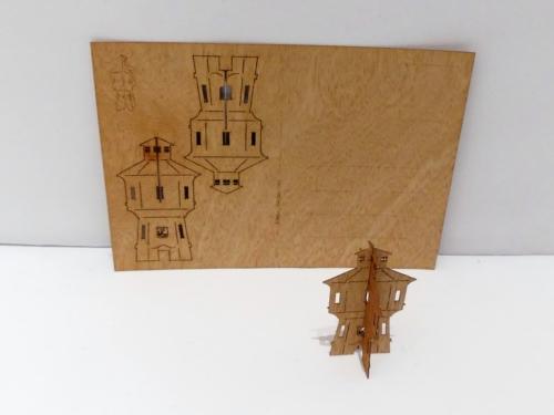 Karten und mehr aus Zedernholz