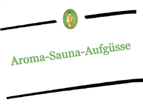 Aroma-Sauna-Aufgüsse